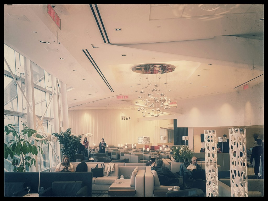 The Star Alliance International Lounge at YUL