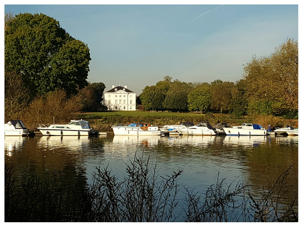 Across the river at Marble Hill House